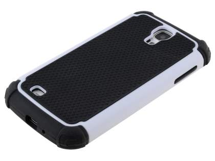Impact Case for Samsung Galaxy S4 I9500 - White/Classic Black