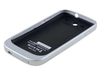 QYG QB2000-S3 Samsung I9300 Galaxy S3 Battery Case - Pearl White