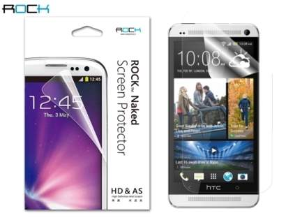 ROCK HTC One M7 Naked HD & AS Screen Protector