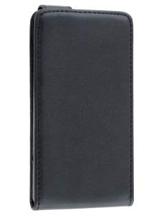 Sony Xperia SP M35 Synthetic Leather Flip Case - Classic Black