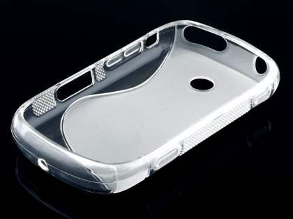 Wave Case for Samsung Galaxy Music S6010 - Frosted Clear/Clear