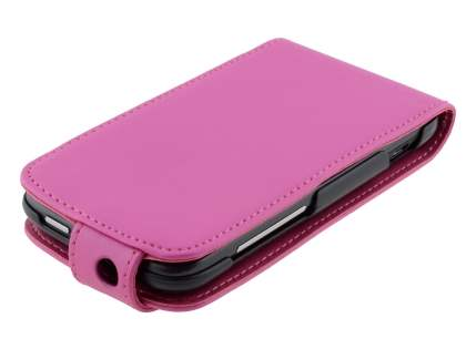 HTC Sensation Synthetic Leather Flip Case - Pink