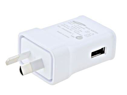 Genuine Samsung 2A/10W AC Charger Adaptor with USB Port - White AC Wall Charger