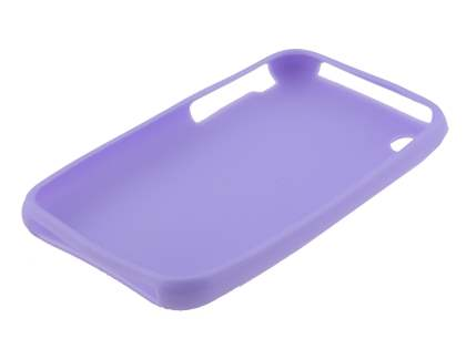 iPhone 3GS/3G Frosted Colour TPU Gel Case - Light Purple