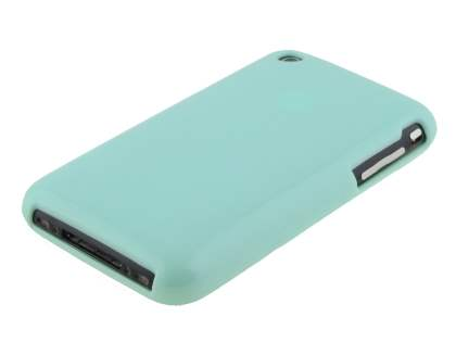 Frosted Colour TPU Gel Case for iPhone 3GS/3G - Mint