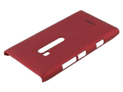 Vollter Nokia Lumia 900 Ultra Slim Rubberised Case plus Screen Protector - Red