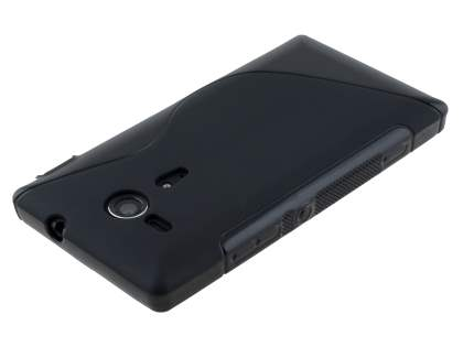 Wave Case for Sony Xperia SP M35 - Frosted Black/Black