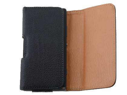 Textured Synthetic Leather Belt Pouch for Sony Xperia SP M35