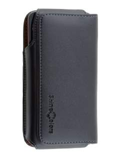 Extra-tough Genuine Leather ShineColours belt pouch for HTC Butterfly