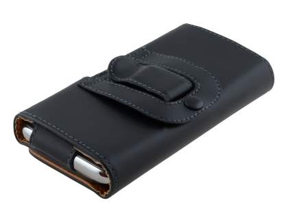 Smooth Synthetic Leather Belt Pouch for Samsung Ativ S I8750