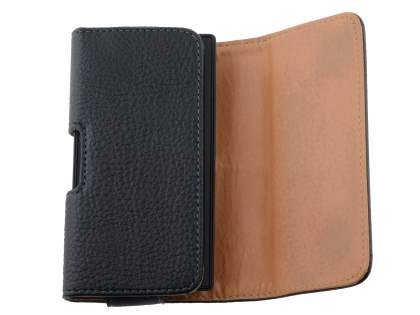 Textured Synthetic Leather Belt Pouch for Nokia Lumia 520
