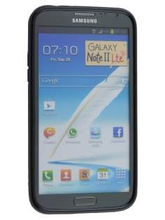 Samsung Galaxy Note II N7100 Dual-Design Case - Black/Grey