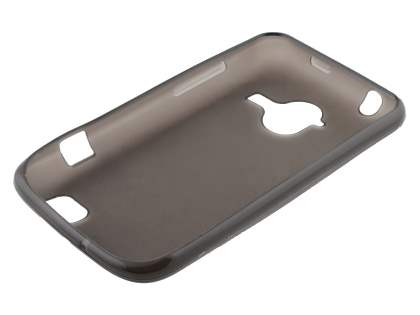 ZTE Telstra Frontier 4G Frosted Colour TPU Gel Case - Frosted Grey