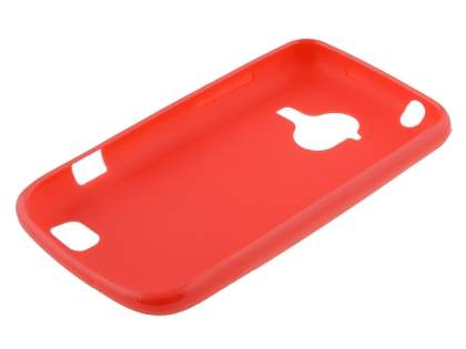 ZTE Telstra Frontier 4G Frosted Colour TPU Gel Case - Red