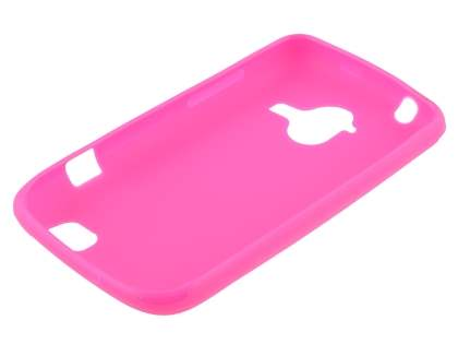 ZTE Telstra Frontier 4G Frosted Colour TPU Gel Case - Hot Pink