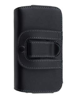 Extra-tough Genuine Leather ShineColours belt pouch for BlackBerry Z10