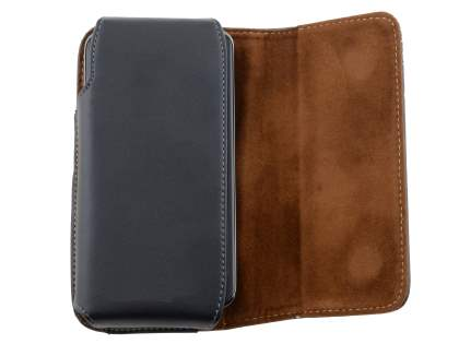 Extra-tough Genuine Leather ShineColours belt pouch for LG Nexus 4 E960