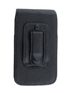 Textured Synthetic Leather Vertical Belt Pouch for Huawei Ascend Y300