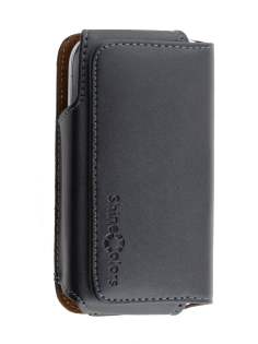 Extra-tough Genuine Leather ShineColours belt pouch for Samsung I8190 Galaxy S3 mini - Belt Pouch