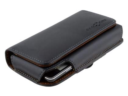 Extra-tough Genuine Leather ShineColours belt pouch for LG Optimus G E975