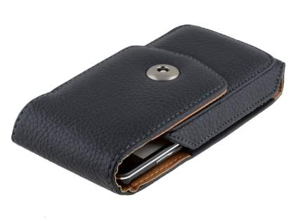 Textured Synthetic Leather Vertical Belt Pouch for Samsung I8190 Galaxy S3 mini