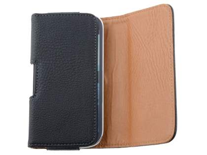 Textured Synthetic Leather Belt Pouch for Samsung Galaxy Express i8730