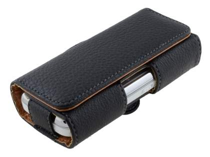 Textured Synthetic Leather Belt Pouch for Nokia N97 mini