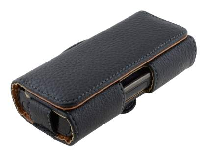 Textured Synthetic Leather Belt Pouch for Nokia X6