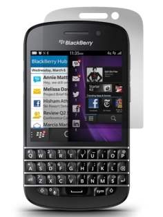 Anti-Glare Screen Protector for BlackBerry Q10 - Screen Protector