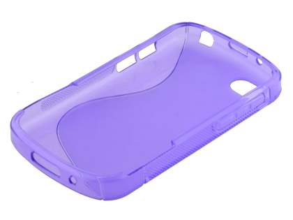 BlackBerry Q10 Wave Case - Frosted Purple/Purple