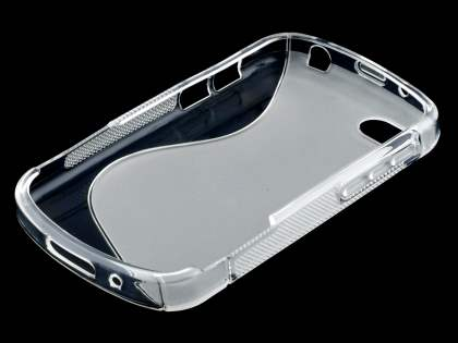 BlackBerry Q10 Wave Case - Frosted Clear/Clear