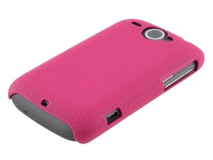 HTC Wildfire G8 Dream Mesh Case - Dark Pink