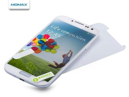 MOMAX Crystal Deluxe HD & AF Screen Protector for Samsung Galaxy S4 I9500