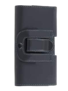 Smooth Synthetic Leather Belt Pouch for Huawei Ascend G510