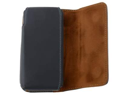 Extra-tough Genuine Leather ShineColours belt pouch for Huawei Ascend G510