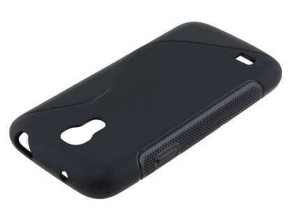 Samsung Galaxy S4 mini Wave Case - Frosted Black/Black