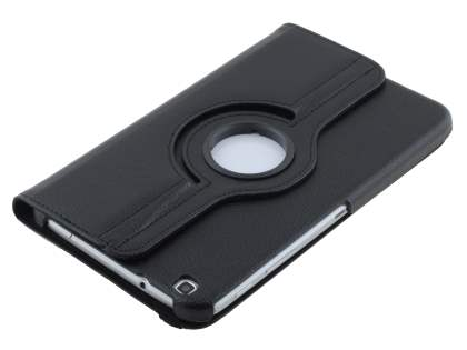 Samsung Galaxy Tab 3 8.0 VELOCITY Synthetic Leather 360° Swivel Flip Case - Classic Black