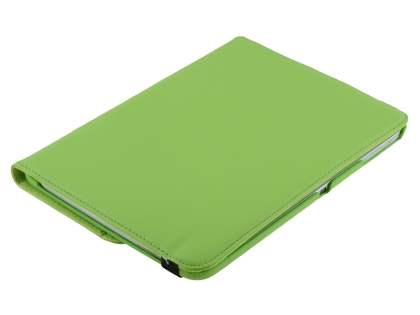 Samsung Galaxy Tab 3 10.1 VELOCITY Synthetic Leather 360° Swivel Flip Case - Green