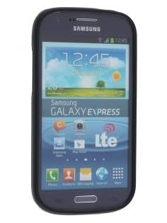 Frosted TPU Case for Samsung Galaxy Express i8730 - Frosted Black
