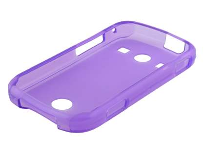 Samsung S7710 Galaxy Xcover 2 Frosted TPU Case - Frosted Purple