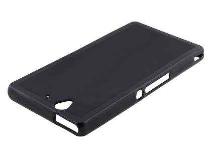 Sony Xperia Z Frosted TPU Case - Frosted Black