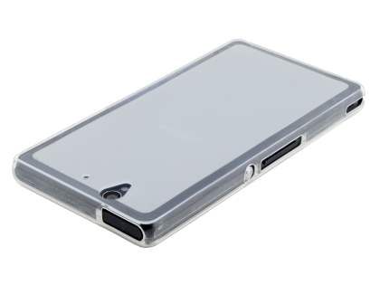 Frosted TPU Case for Sony Xperia Z - Frosted Clear