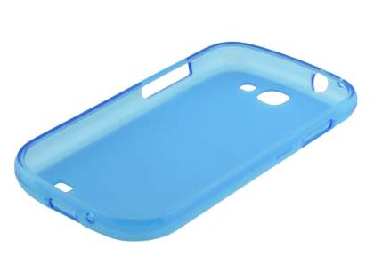 Samsung Galaxy Express i8730 Frosted TPU Case - Frosted Blue