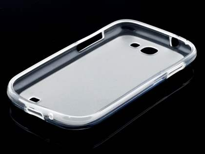 Frosted TPU Case for Samsung Galaxy Express i8730 - Frosted Clear