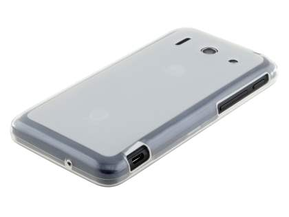 Huawei Ascend G510 Frosted TPU Case - Frosted Clear