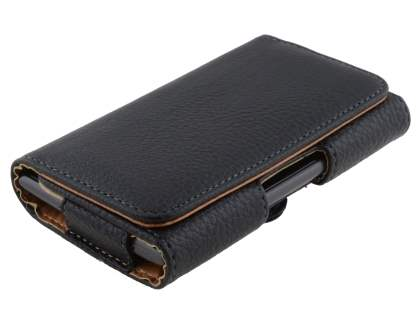 Textured Synthetic Leather Belt Pouch for Nokia Lumia 925