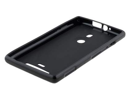 Frosted TPU Case for Nokia Lumia 925 - Black