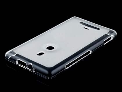 Frosted TPU Case for Nokia Lumia 925 - Frosted Clear