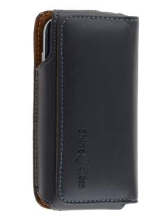 Extra-tough Genuine Leather ShineColours belt pouch - Naked Mobile Only - Belt Pouch