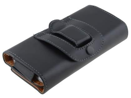 Smooth Synthetic Leather Belt Pouch - Naked Mobile Only